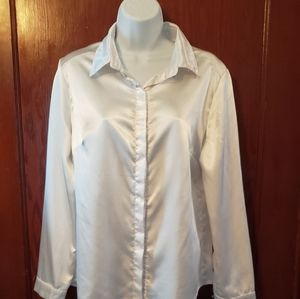 Tops - White long sleeve button up